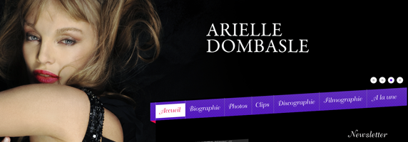 arielle dombasle wordpress