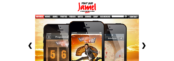 jamel debbouze wordpress