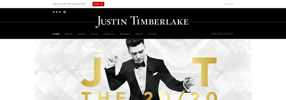 justin timberlake wordpress