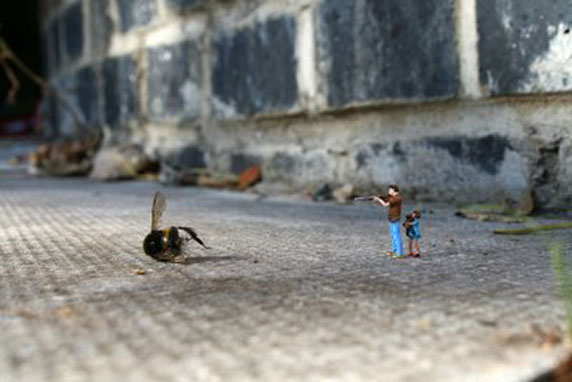 Street Art - Slinkachu