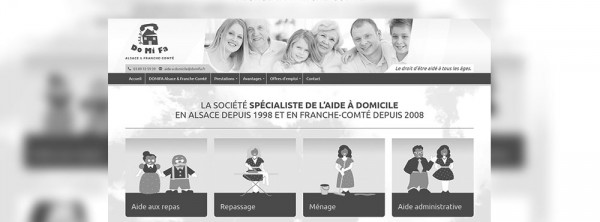 Webdesign Domifa - Kaache