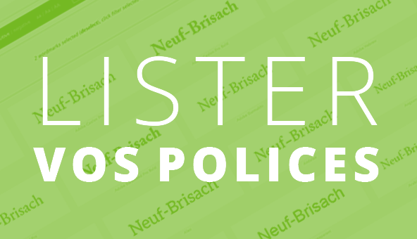 Lister vos polices wordmark.it